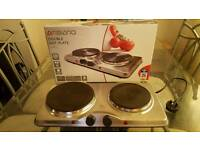 Double hot plates (portable stovd)