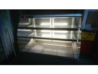 drop in counter display fridge commercial chiller takeaway