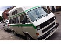1988 vw t25 west country Kestrel campervan