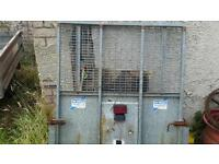 Used ifor williams 4ft wide ramptailgate ideal gd and gx trailers fitted electrics no vat