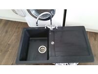Granite single sink