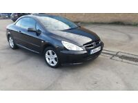 peugeot 307 automatic convertible full leather interior good condition