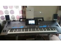 Yamaha Tyros 5 76 key in pristine new condition