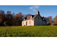 4 BEDROOM HOUSE, TEANDALLOCH, BEAULY, INVERNESS-SHIRE set in over 3 ACRES - Offers Over £275,000