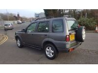 FREELANDER/ 12 MONTHS MOT/ ALL LEATHER SEATS/ EXCELLENT DRIVE/ONLY 113K