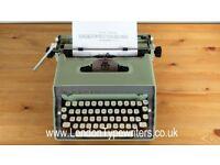 1950's Working Remington Typewriter - New Ribbon, Original Case