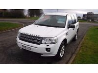 LANDROVER FREELANDER GS TD4 AUTO,2012,White,Alloys,A/C,Cruise Control,Full Service History,Stunning