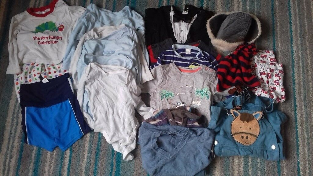a78af1473af9 Boys 9-12 months clothes bundle
