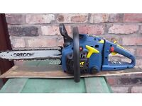 38cc petrol chainsaw in excellent condition with new quality chain
