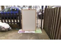 """Whiteboard Short Use Approx. 23 1/2' x 35 1/2"""""""