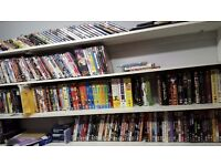218 DVDs collection only