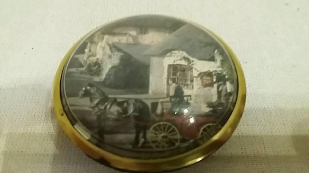ornamental brass paper weight