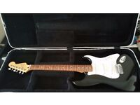 Fender Stratocaster Standard Black Mexican / MIM