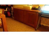 Sideboard cherry wood veneer