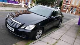Mercedes E220 BLUEFF