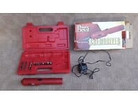 Cordless electric screwdriver set(power devil)