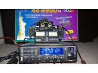 CRT SS6900N HF CB Radio with accessories