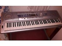 Yamaha Portable Grand Keyboard - 76 keys - £110 ONO - comes with pine stand - stunning instrument