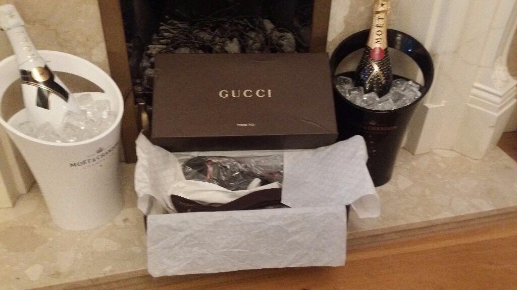 109b100e8 GUCCI mens 100% genuine Brown Micro Guccissima leather Flip Flops Sandals  size 7 FINAL REDUCTION