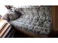 Caravan cushions bed sofa