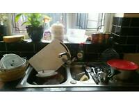 KITCHEN SINK STEEL FOR IN GOOD CONDITION