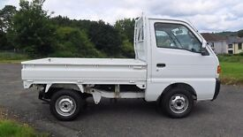 SUZUKI SUPER CARRY 4WD PICKUP, GENUINE LOW MILES, DROPSIDE, SWITCHABLE 2WD / 4WD, NEW MOT & SERVICE!