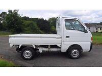 SUZUKI SUPER CARRY 4WD PICKUP, GENUINE LOW MILES, DROPSIDE, SWITCHABLE 2WD / 4WD, NEW MOT & SERVICE!