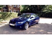 Le Mans Blue BMW 320d M Sport 2 Door