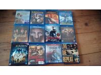 48 NEW AND SEALED BLU-RAYS