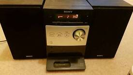 Sony Stereo CD radio aux in mp3 CD ipod