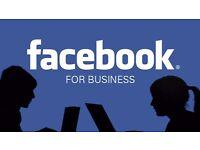 Facebook & Instagram Management per business italiani £150 p/m