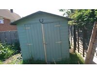 Garden shed 2m x 2.1m