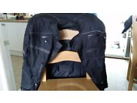 Large Men's Frank Thomas FTW350 Full Force Advance Aqua 2 Jacket Black