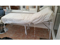 Portable Massage/Beauty table with transporter bag (carry case) on wheels
