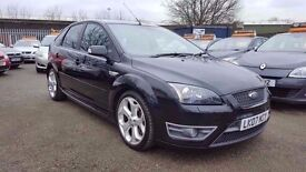 FORD FOCUS 2.5 ST-2 6 SPEED 5 DOOR 2007 / FULL SERVICE HISTORY / HPI CLEAR / EXCELLENT CONDITION