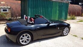 2004 BMW Z4 with brand new roof motor, major service (FSH) and a year's MOT