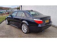 2007 BMW 530D M SPORT LCI CARBON BLACK 102,000 MILES RARE SPEC STUNNING EXAMPLE