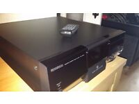 Kenwood 200 disc changer HIFI SEPERATE full size with remote