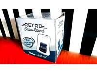 RETRO SUPER BLEND Blender & Smoothie Maker - BNIB - Jason Vale Juice Master Endorsed! Colour - Black