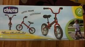 Brand new red chicco balance bike