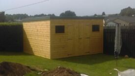 12ft x 10ft Garden Shed