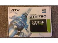 MSI GEFORCE GTX 750 GRAPHICS CARD