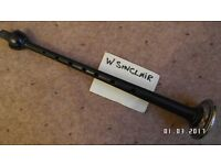 SILVER sole SINCLAIR bagpipe chnter