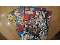Marvel Comics UK Death 3 Collection 1-4 1993.