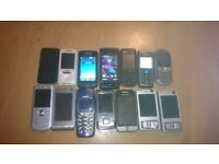 26 Phones and 4 Tablet for parts