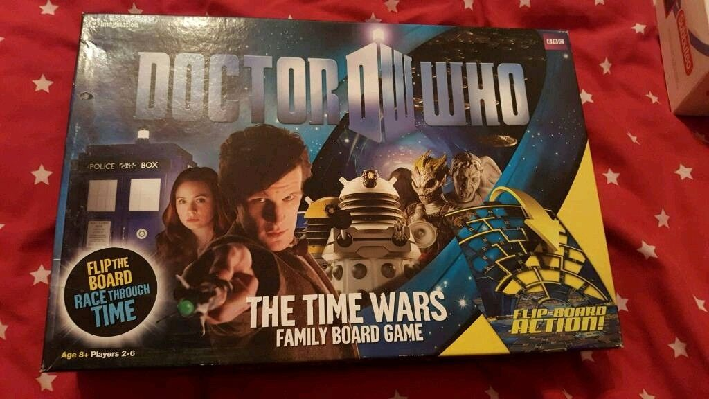 Dr who time wars game