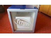 ' TETLEYS ' Husky Mini Fridge - For Mini Bar , Beer, Wine storage ect