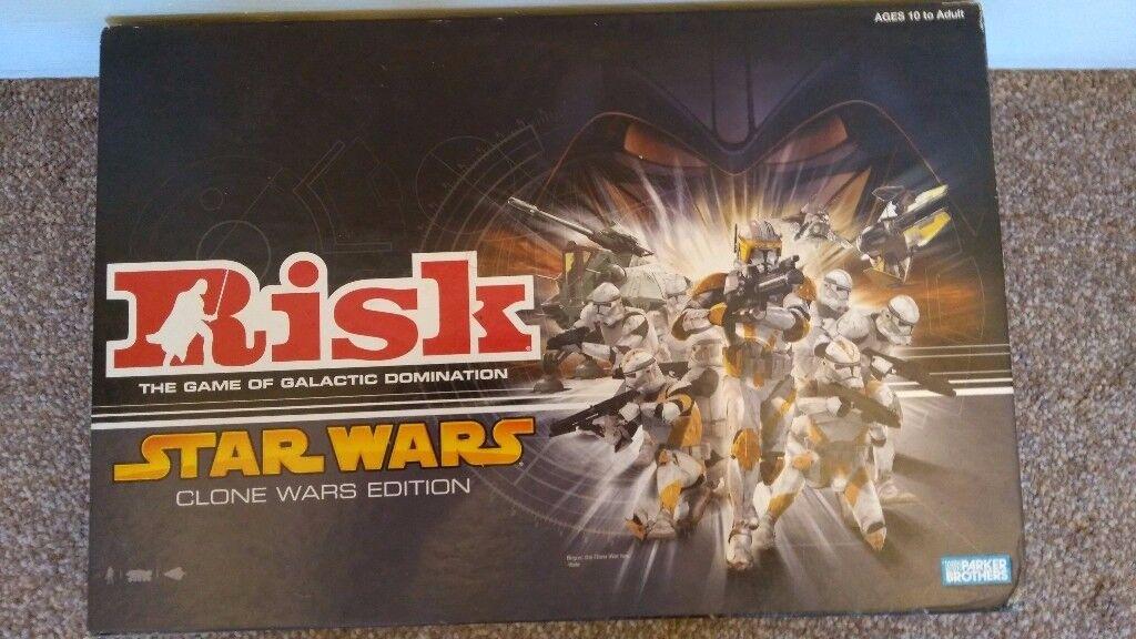 Risk - Star Wars - Clone Wars Edition - Board Game