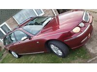 Rover 75 estate-v6. 12500 miles, four previous owners. Full years m.o.t