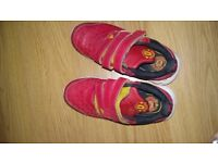 Red Manchester united Addidas trainers